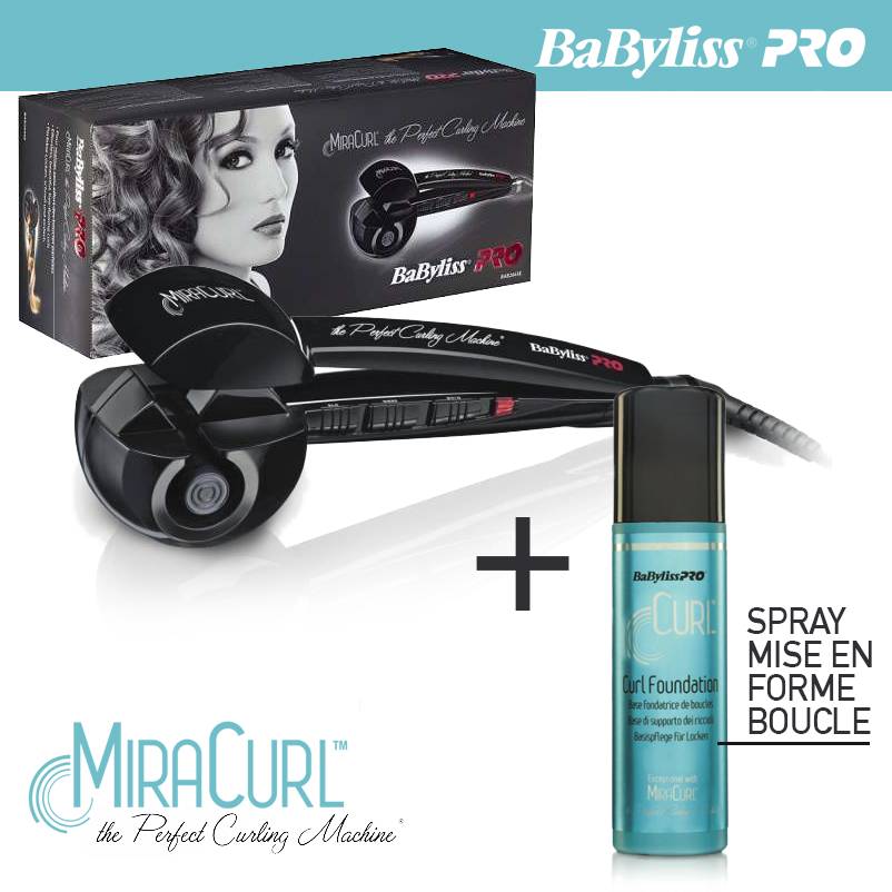 babyliss pro miracurl bab2665e pack perfect curling. Black Bedroom Furniture Sets. Home Design Ideas