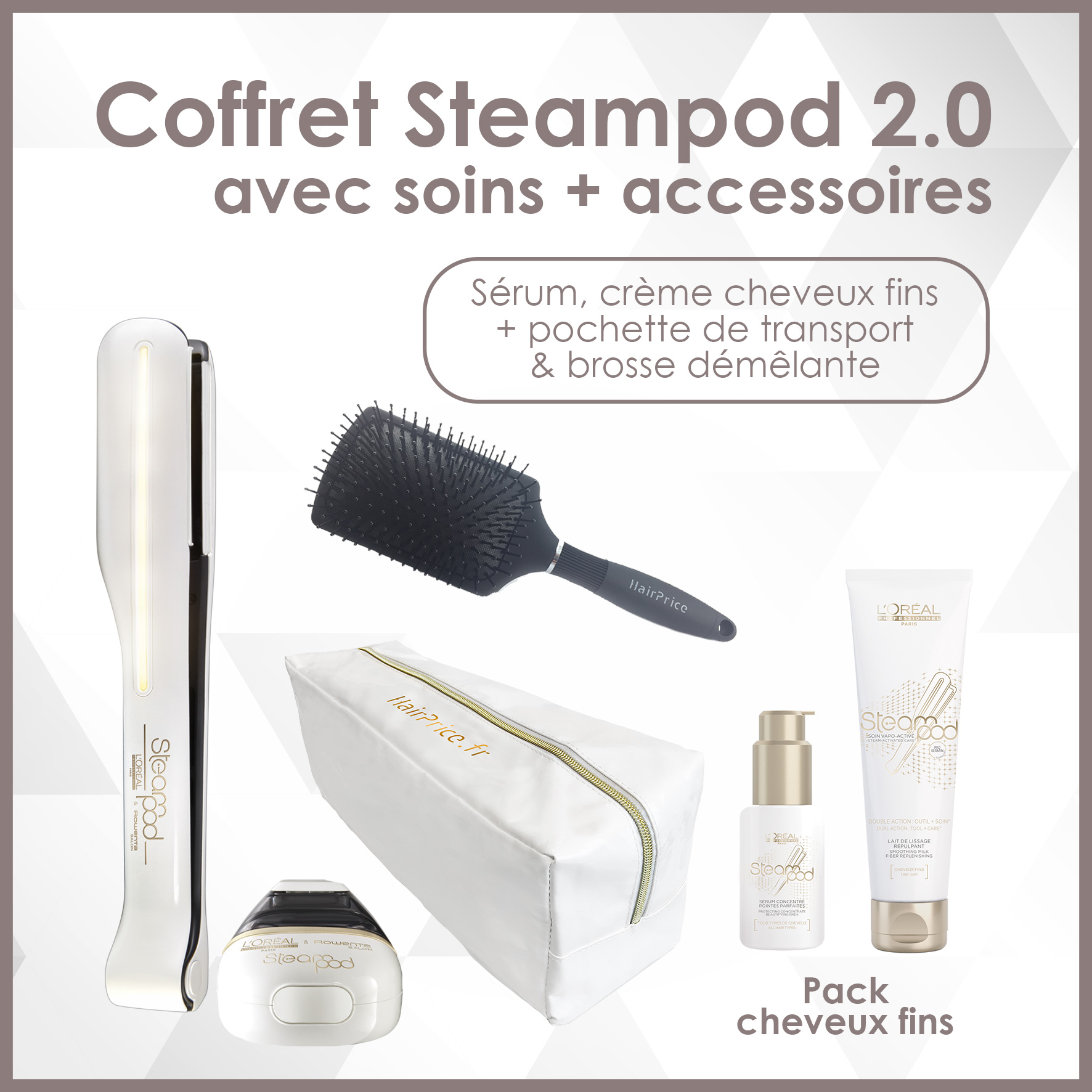 pack steampod 2 0 nouvelle g n ration. Black Bedroom Furniture Sets. Home Design Ideas