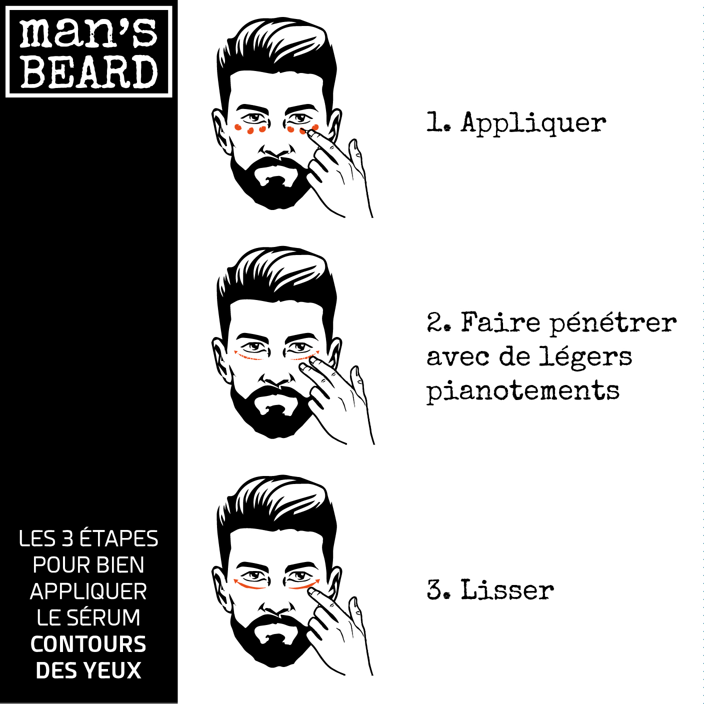 man 39 s beard s rum contours des yeux l 39 acide hyaluronique 15 ml man 39 s beard cosm tique. Black Bedroom Furniture Sets. Home Design Ideas